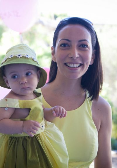 Daughter & Mother in Yellow