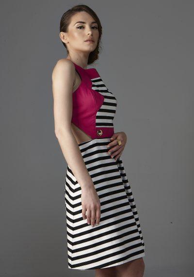 Μίνι φόρεμα 60's